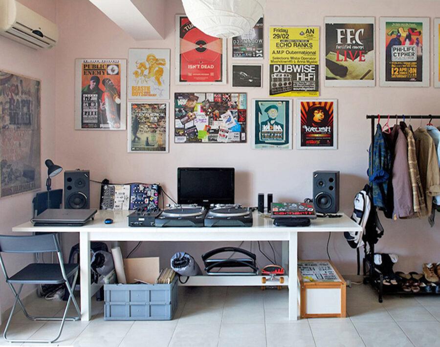 Dj's apartment, Patras